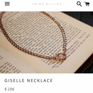 """ISO THIS TRIBE KELLEY """"GISELLE"""" NECKLACE"""